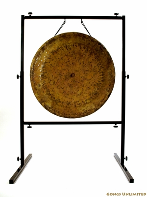 "26"" Atlantis Gong on Rambo Rimbaud Gong Stand - FREE SHIPPING - SOLD OUT"