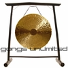 """26"""" Heng Gong on the Vietnamese Bamboo Gong Stand"""
