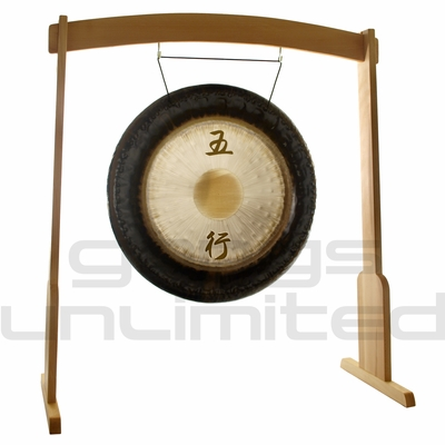 """28"""" Meinl Sonic Energy Wu Xing Gong on Meinl Wood Stand (G28-WX/TMWGS-M) - SOLD OUT"""
