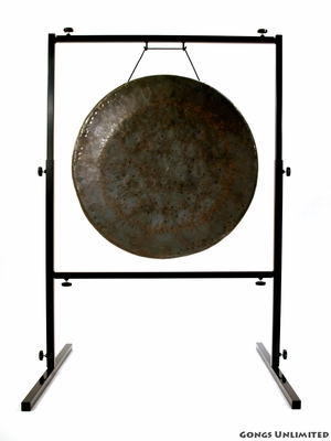 "26"" Mother Tesla Gong on Rambo Rimbaud Gong Stand - FREE SHIPPING"