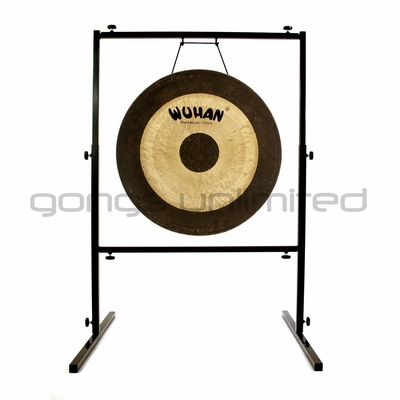 "SOLD OUT 26"" Wuhan Chau Gong on Rambo Rimbaud Gong Stand - FREE SHIPPING"
