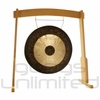 "28"" Chau Gong on the Meinl Gong/Tam Tam Wood Stand (TMWGS-M)"