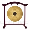 "28"" Chocolate Drop Gong on the Deeper Meaning Gong Stand  - FREE SHIPPING"