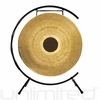 """28"""" Chocolate Drop Gong on Paiste Floor Gong Stand"""