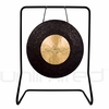 """28"""" Dark Star Gong on UFIP Molto Bella Gong Stand"""