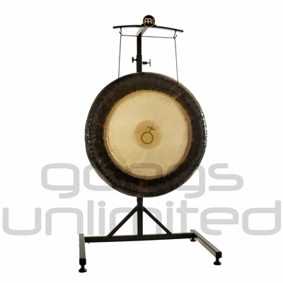 """28"""" Meinl Platonic Year Planetary Tuned Gong on the Meinl Metal Stand (G28-E-PL/TMGS)  SOLD OUT"""