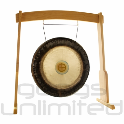"28"" Meinl Sidereal Day Planetary Tuned Gong on the Meinl Wood Stand (G28-E-SI/TMWGS-M) - SOLD OUT"
