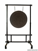 "28"" Mother Tesla Gong on Stand Up! Gong Stand"