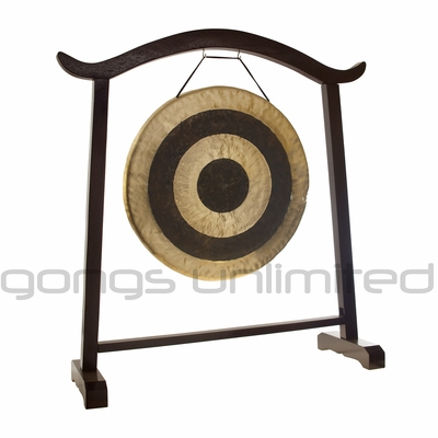 "28"" Subatomic Gong on the Deeper Meaning Gong Stand - SOLD OUT"