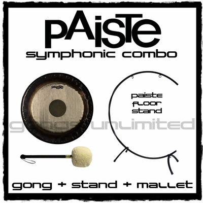 "28"" Paiste Symphonic Gong on ""C"" Stand with M4 Mallet"