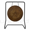 "28"" Atlantis Gong on UFIP Molto Bella Gong Stand"