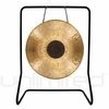 28� Chocolate Drop Gong on UFIP Molto Bella Gong Stand