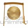 "28"" Wind Gong on the Meinl Gong/Tam Tam Wood Stand (TMWGS-M)"