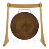 "28"" Atlantis Gong on the Unlimited Revelation Gong Stand - FREE SHIPPING"