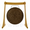 "28"" Mother Tesla Gong on the Unlimited Revelation Gong Stand - FREE SHIPPING"