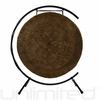"""28"""" Mother Tesla Gong on Paiste Floor Gong Stand"""