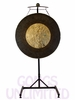 "32"" Dark Star Gong on the Meinl Gong/Tam Tam Stand (TMGS) SOLD OUT"