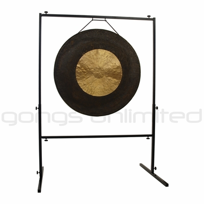 """32"""" Dark Star Gong on Rambo Rimbaud Gong Stand - SOLD OUT"""