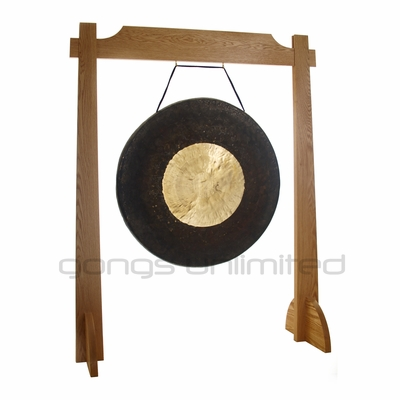 """32"""" Dark Star Gong on Unlimited One Gong Stand SOLD OUT"""