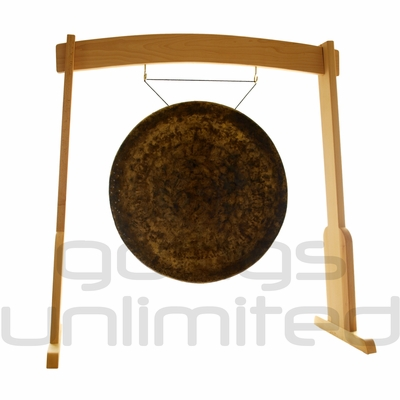 "32"" Atlantis Gong on the Meinl Gong/Tam Tam Wood Stand (TMWGS-L) - SOLD OUT"