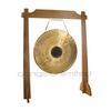 "32"" Chocolate Drop Gong on Unlimited One Gong Stand"