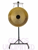 "32"" Chocolate Drop Gong on the Meinl Gong/Tam Tam Stand (TMGS)"