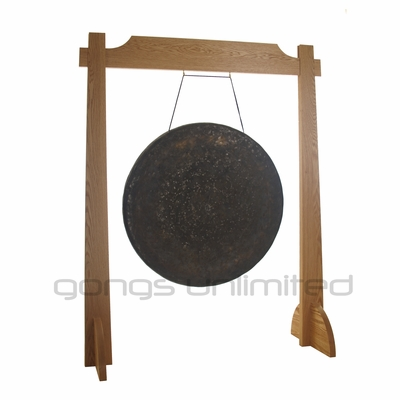 "32"" Mother Tesla Gong on Unlimited One Gong Stand - SOLD OUT"