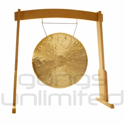 "32"" Heng Gong on the Meinl Gong/Tam Tam Wood Stand (TMWGS-L) - SOLD OUT"