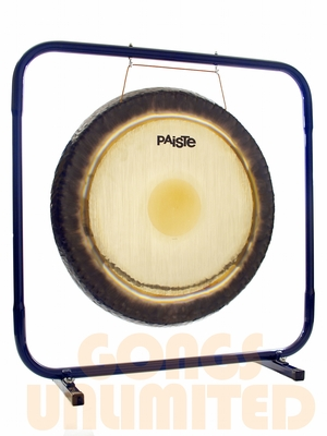 "32"" Paiste Symphonic Gong on Royal Blue Stand with Paiste M5 Mallet - FREE SHIPPING"