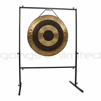 "32"" Subatomic Gong on Rambo Rimbaud Gong Stand - SOLD OUT"