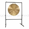 """32"""" Wind Gong on Rambo Rimbaud Gong Stand  - SOLD OUT"""