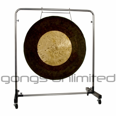 "36"" Asteroid Belt Gong on Astral Reflection Gong Stand"