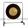 "36"" Dark Star Gong on Astral Reflection Gong Stand - SOLD OUT"