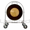 "36"" Dark Star Gong on Chrome Corps Design Adjustable Marching Band Gong Stand - SOLD OUT"