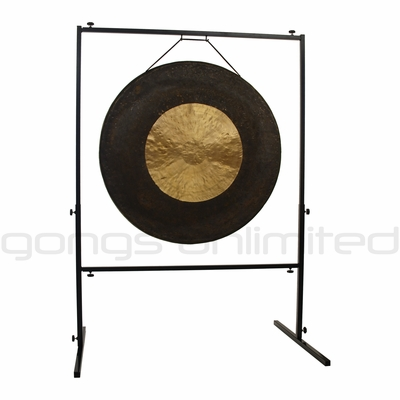 "36"" Asteroid Belt Gong on Rambo Rimbaud Gong Stand - SOLD OUT"