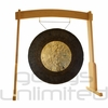 """36"""" Dark Star Gong on the Meinl Gong/Tam Tam Wood Stand (TMWGS-L) - SOLD OUT"""