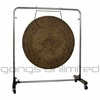 "36"" Atlantis Gong on Astral Reflection Gong Stand"