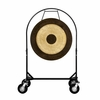 "36"" Chau Gong on Corps Design Adjustable Marching Band Gong Stand"