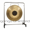 "36"" Chocolate Drop Gong on Astral Reflection Gong Stand"