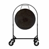 "36"" Mother Tesla Gong on Corps Design Adjustable Marching Band Gong Stand"