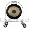 "36"" Paiste Symphonic Gong on Chrome Corps Design Adjustable Marching Band Gong Stand"