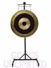 "36"" Subatomic Gong on the Meinl Gong/Tam Tam Pro Stand (TMGS-2)"