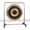 "36"" Subatomic Gong on Astral Reflection Gong Stand"