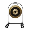 "36"" Subatomic Gong on Corps Design Adjustable Marching Band Gong Stand"