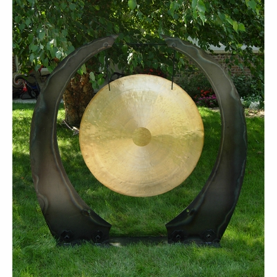 "36"" to 40"" Gongs on the Edge of the Universe Gong Stand - CUSTOM ORDERED"