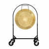 "36"" Wind Gong on Corps Design Adjustable Marching Band Gong Stand"