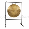 """36"""" Wind Gong on Rambo Rimbaud Gong Stand - SOLD OUT"""