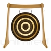 "36"" Solar Flare Gong on the Unlimited Revelation Gong Stand - SOLD OUT"
