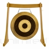 "38"" Subatomic Gong on the Unlimited Revelation Gong Stand - SOLD OUT"