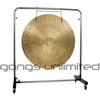 "38"" Wind Gong on Astral Reflection Gong Stand"